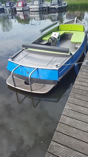 Uitbreiding huurvloot met twee elektrisch aangedreven sloepen - Bootverhuur Beerta Blauwestad